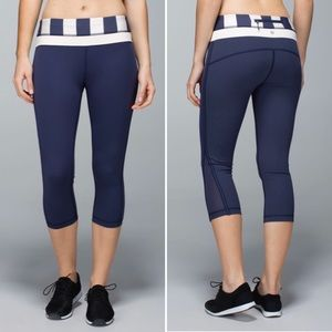 Lululemon Up The Pace Crop
